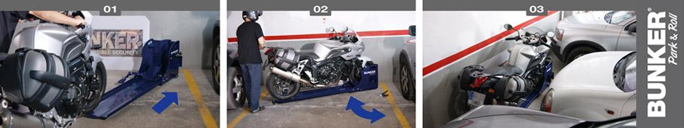 Sistemas antirrobo para garaje bmwmotos com - Antirrobo moto garaje ...